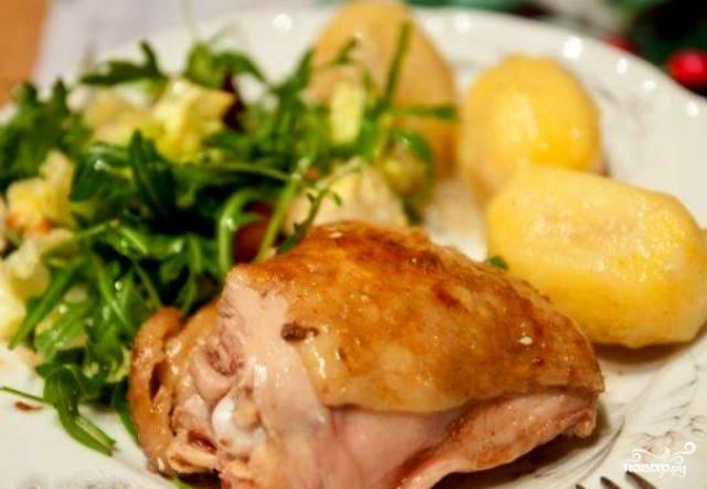 рецепт цыпленок бройлера в духовке целиком рецепт с фото