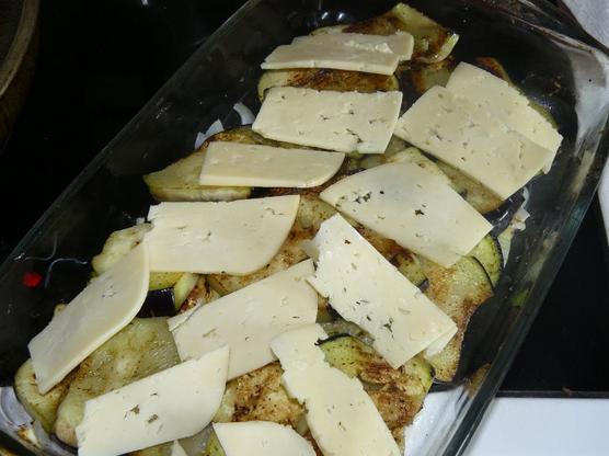 Рецепт Запеканка с баклажанами и сыром