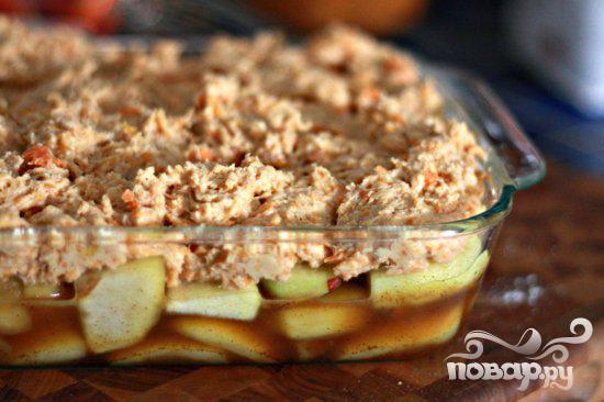 Яблочный коблер со сладким картофелем - фото шаг 9