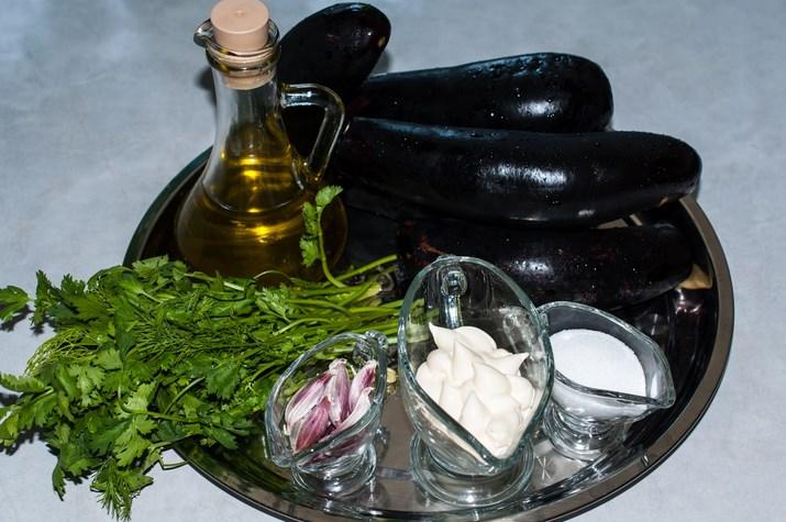 Рецепт Баклажаны жареные с кинзой