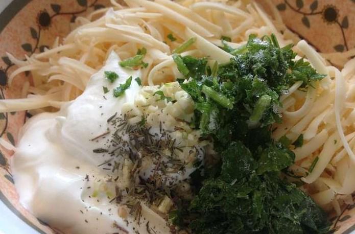 Хачапури из творожного теста с сыром - фото шаг 7
