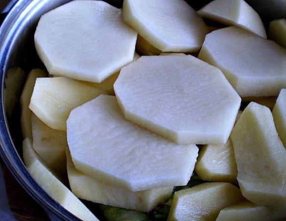 Голубцы с фасолью - фото шаг 5