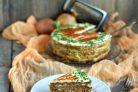 Печеночный торт с плавленым сыром