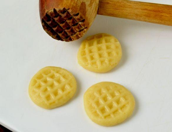 Печенье на сковороде - фото шаг 6