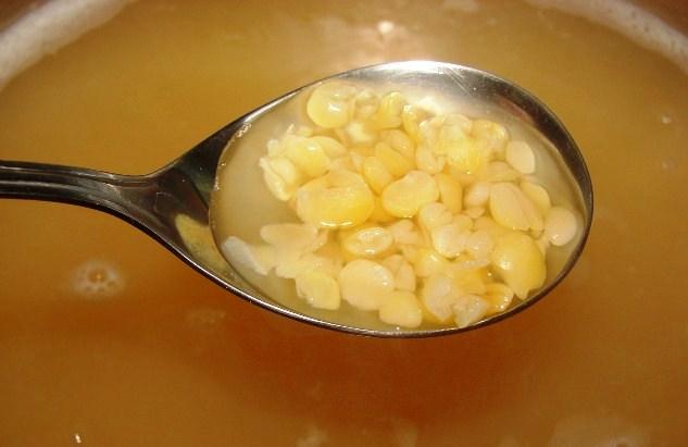Рецепт Гороховый суп с капустой
