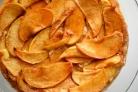 Перевернутый пирог с яблоками и корицей