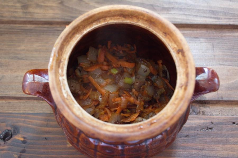 Рагу в горшочках с мясом - фото шаг 3