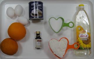 Рецепт Апельсиновый бисквитный пирог