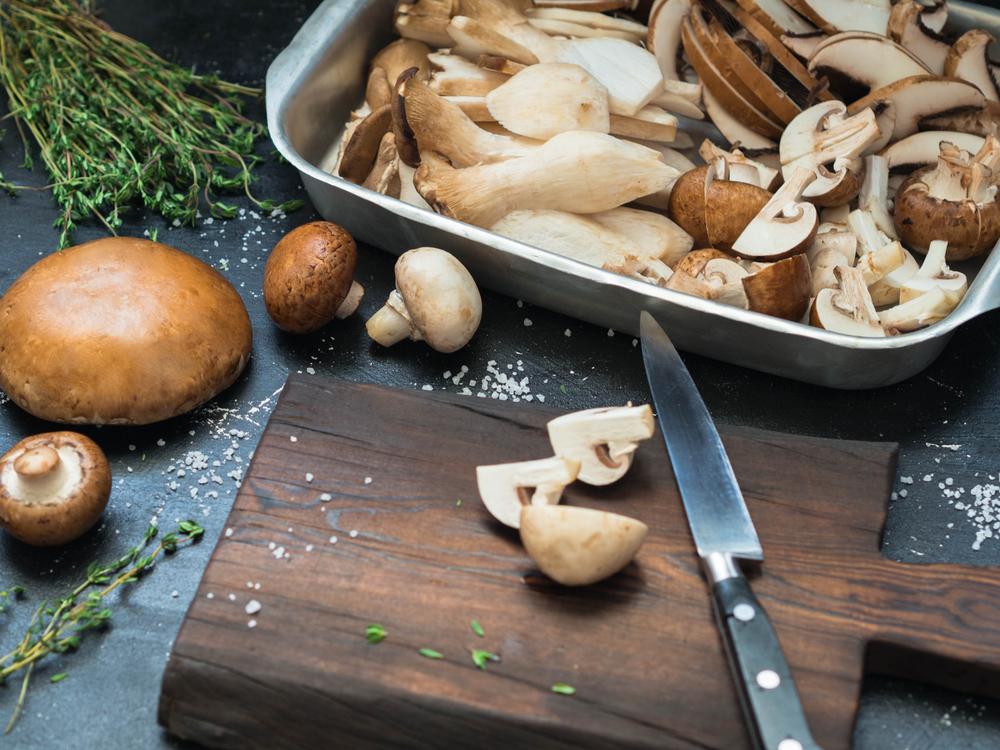 Замораживание грибов