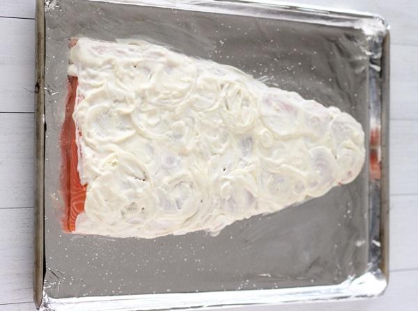 Запеченная семга с сыром - фото шаг 4