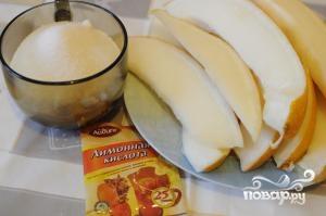Рецепт Варенье из дыни