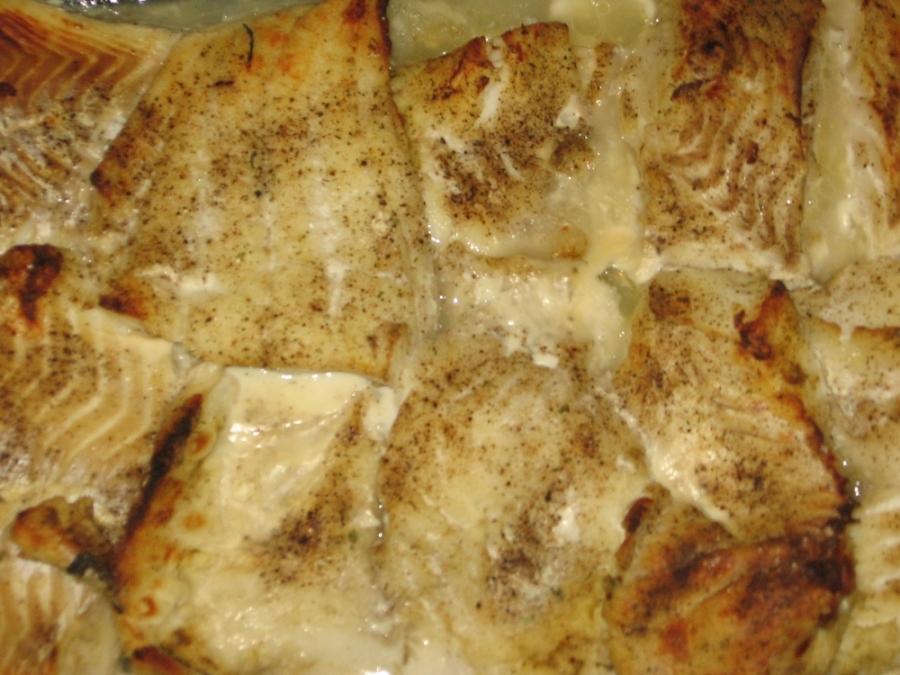 Рыба под белым соусом - фото шаг 3