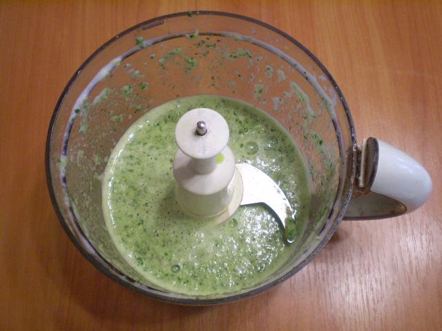 Зеленый коктейль с перцем - фото шаг 4