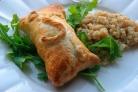 Пирожки с курицей и сыром в духовке