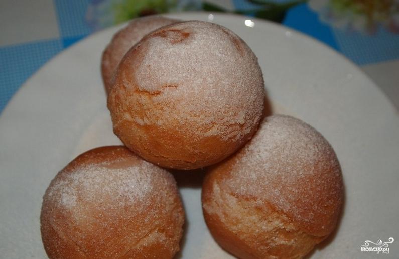 Пошаговый рецепт творожных шариков с фото