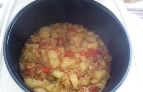Картофельное рагу со свининой - фото шаг 2