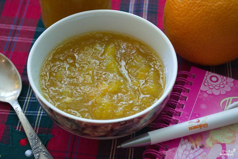 Апельсиновый джем на зиму
