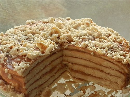 Торт-минутка в духовке - фото шаг 7