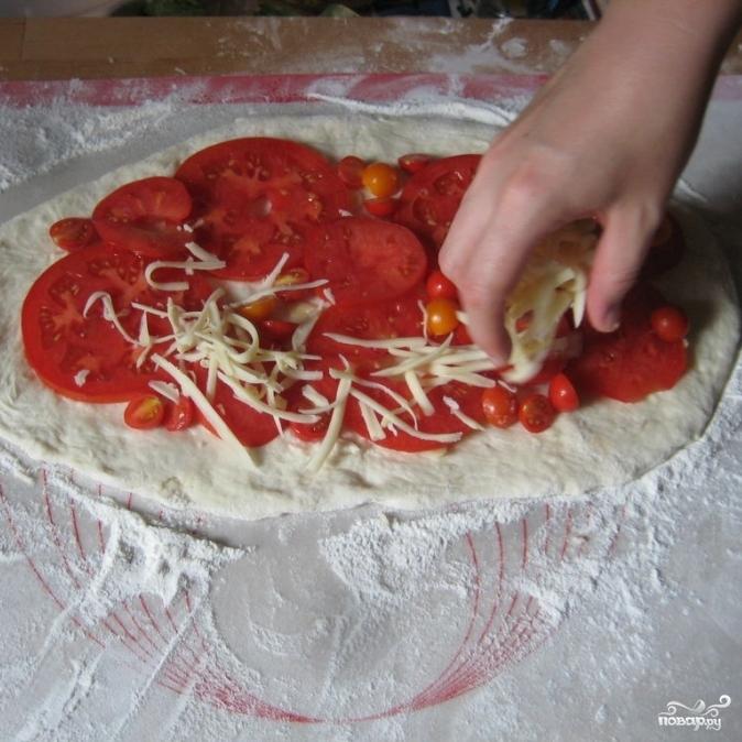 пицца по домашнему рецепт в духовке пошаговый рецепт