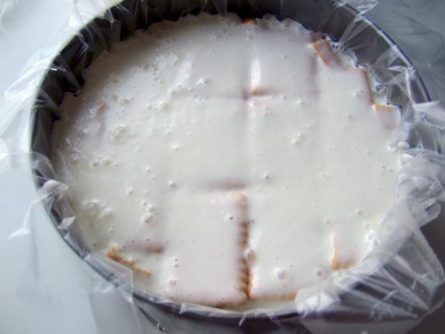 Торт без выпечки со сметаной - фото шаг 9