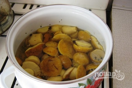 Маринованные грибочки - фото шаг 3