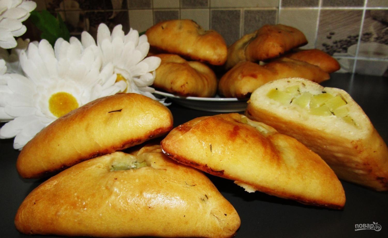 Курник с картофелем и мясом рецепт пошаговый