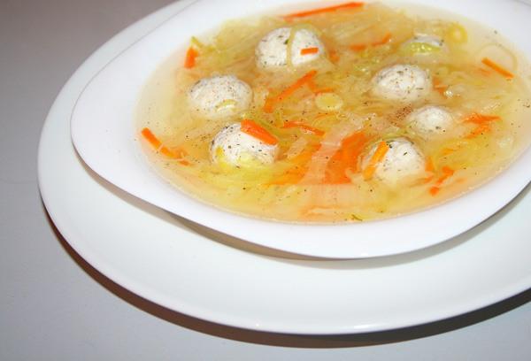 Суп с рыбными фрикадельками - фото шаг 8