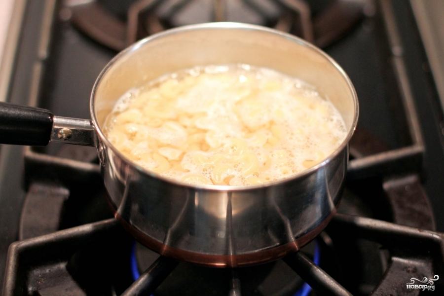Рецепт Салат с тунцом и макаронами