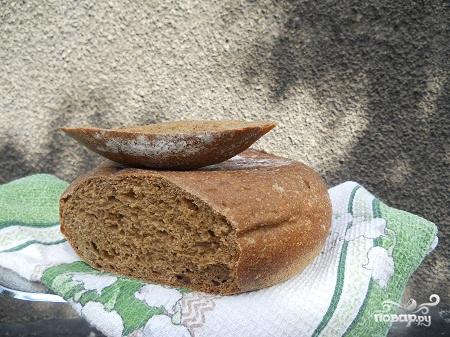 Бездрожжевой ржаной хлеб в мультиварке - фото шаг 7