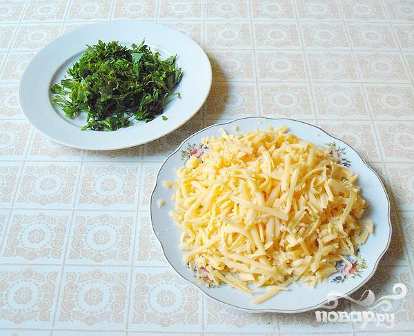 Курица, запеченная с сыром и овощами - фото шаг 4