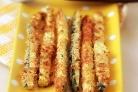 Кабачковые палочки в сырной панировке