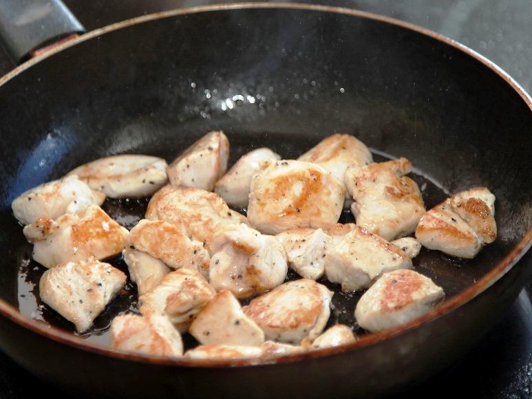 Курица карри с овощами - фото шаг 4