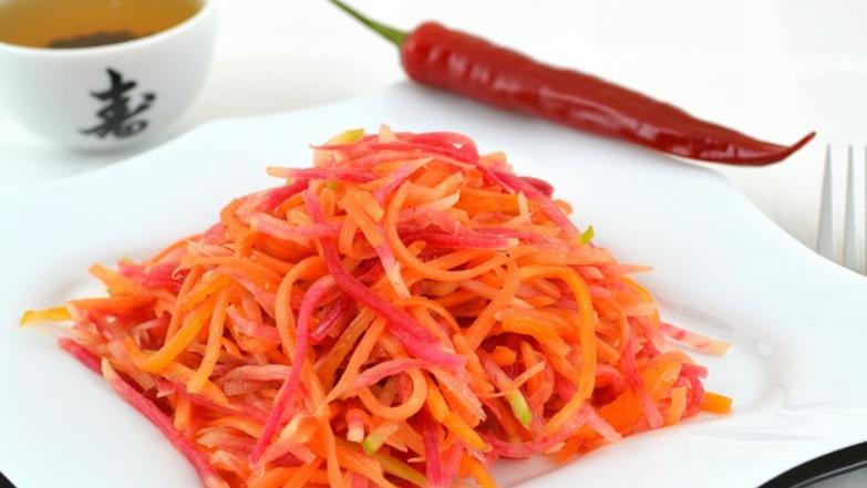 Постный салат из моркови - фото шаг 5