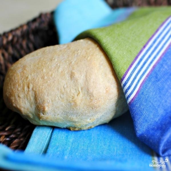 хлеб в духовке без формы рецепты с фото