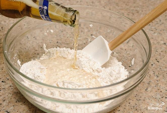 Хлеб на пиве - фото шаг 1