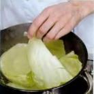 Рецепт Шницель капустный с луковой заправкой