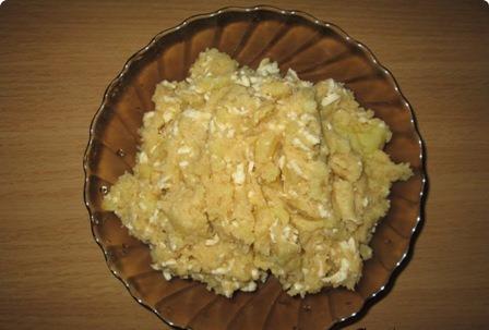 Кыстыбый с сыром - фото шаг 2