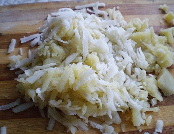 Рецепт Слоеный салат с ветчиной