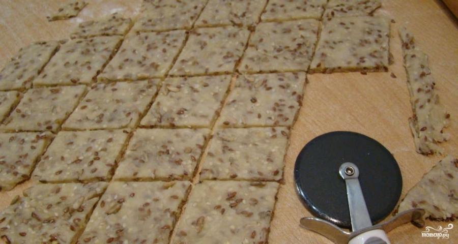 Печенье зерновое с семечками - фото шаг 3