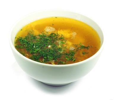 Вкусный куриный суп с вермишелью