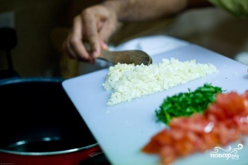 Рецепт Паста с помидорами и креветками