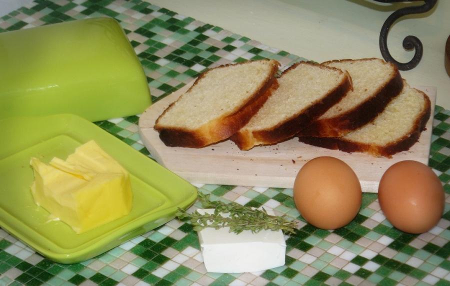 Рецепт Бутерброды на сковороде