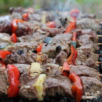 Шашлык из говядины - фото шаг 10