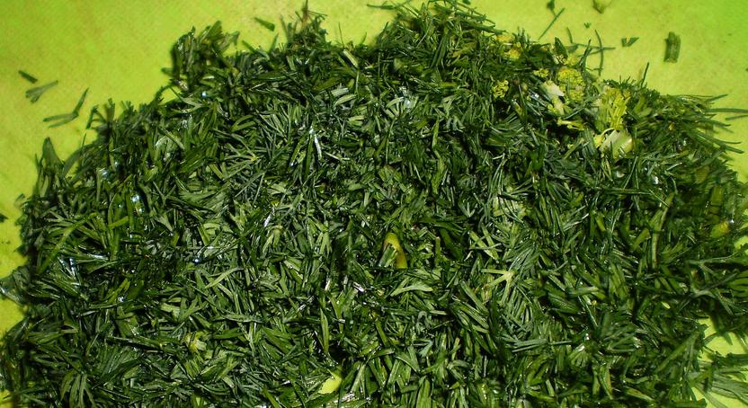 Зеленый лук на зиму - фото шаг 2
