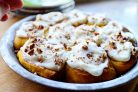 Тыквенные булочки с корицей и орехами