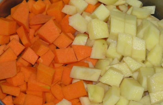 Рецепт Пюре из тыквы и яблок на зиму
