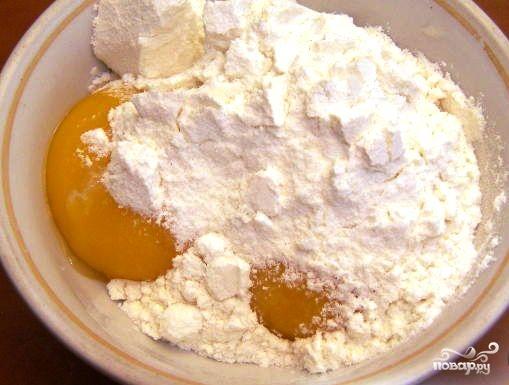 Легкое бисквитное тесто - фото шаг 1