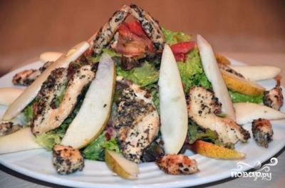 Салат с грушей - фото шаг 11