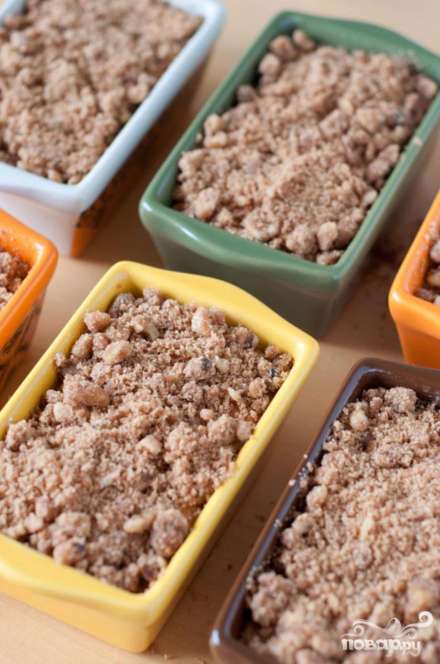 Тыквенный хлеб с ореховой посыпкой - фото шаг 3
