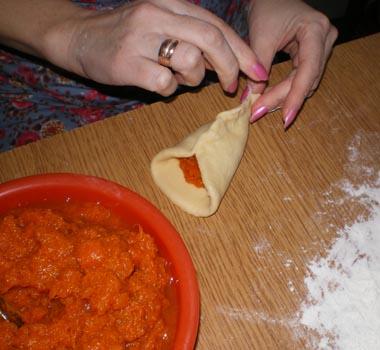 Пирожки с тыквой в духовке - фото шаг 5